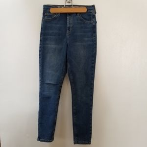 Topshop MOTTO Jamie high rise skinny jeans